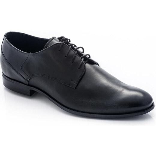 Montonelli Man férfi fekete alkalmi cipő 41 GLAMI.hu