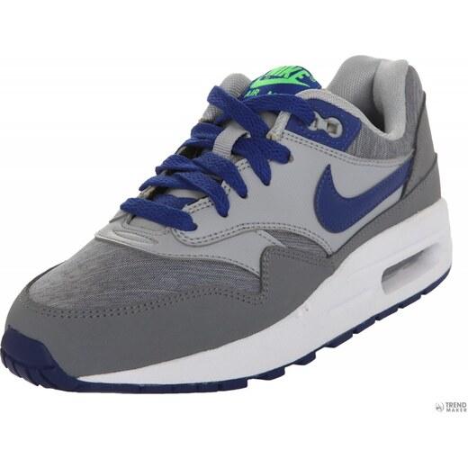 Nike gyerek edzőcipő edző cipő Air Max 1 (GS) szürke Kék