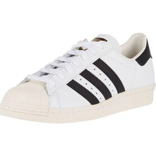ADIDAS ORIGINALS Rövid szárú edzőcipők 'SUPERSTAR 80s' fekete fehér