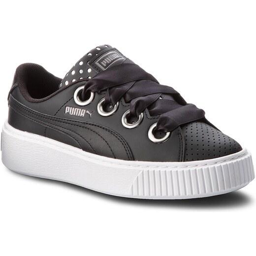 Sportcipő PUMA Platform Kiss Ath Lux Wn's 366704 02 Puma BlackPuma Black