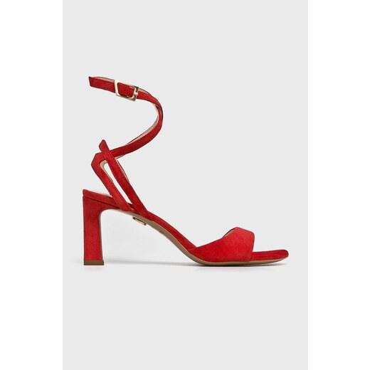Solo Femme Tűsarkú cipő piros 4911 OBD1WL   ANSWEAR.hu