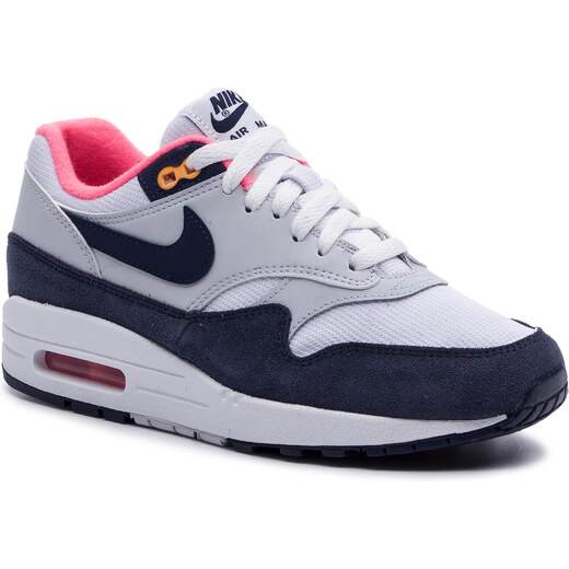 Cipő NIKE Air Max 1 319986 116 WhiteMidnight Navy GLAMI.hu