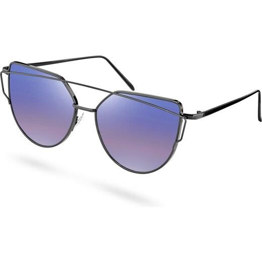 Paul Riley Absztrakt keretes napszemüveg lila, polarizált