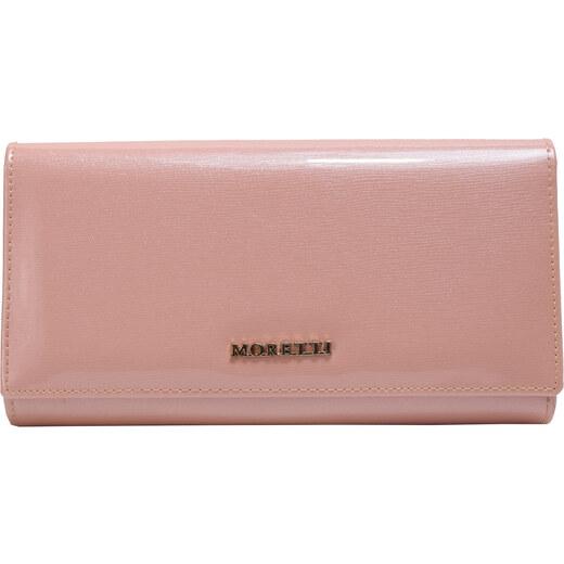 Pénztárca MORETTI BC33 23 Púder rózsaszín bőr GLAMI.hu