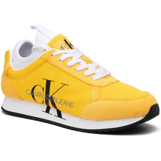 Sportcipő CALVIN KLEIN JEANS Jemmy B4S0136 Lemon Chrome