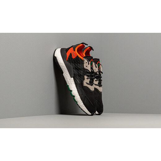 adidas Originals adidas Nite Jogger Core Black Grey Six Orange
