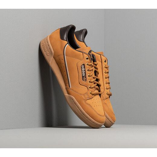 adidas Originals adidas Continental 80 Mesa Night Brown Eqt Yellow