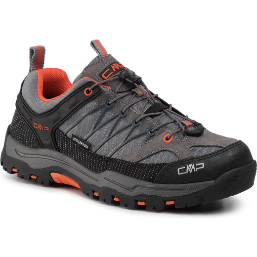 Bakancs CMP Kids Rigel Low Trekking Shoes Wp 3Q54554J StoneOrange 78UC