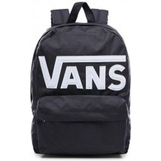 Egyszerű fekete hátizsák VANS MN OLD SKOOL II BACK
