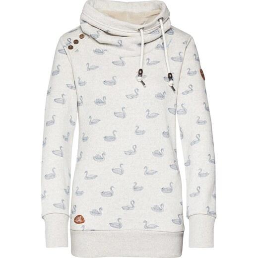 Ragwear Tréning póló 'HABLARIA SWANS' fehér világoskék