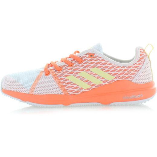 adidas PERFORMANCE Fehér narancssárga női tornacipő ADIDAS